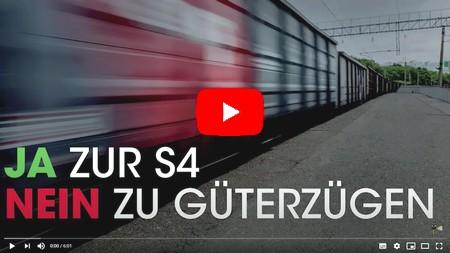 Nein zu Güterzügen durch Rahlstedt