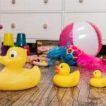 Bewegung und Spiel für Babys geboren von Februar bis April 2021