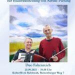 Ausstellungsmusik: Duo Faltenreich